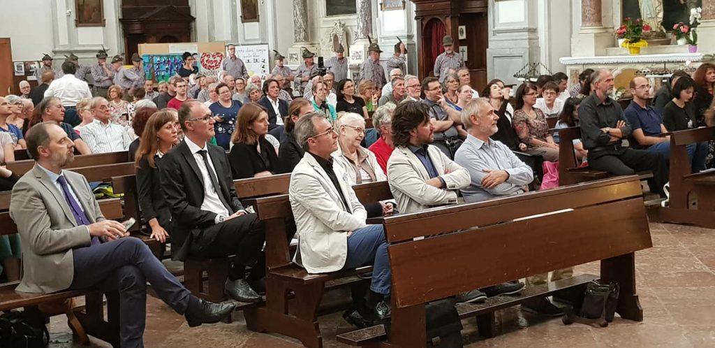 Concerto in chiesa. Il pubblico